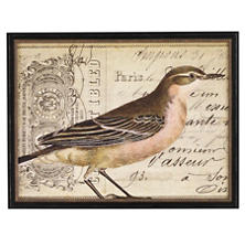 Vintage Bird 1 Wall Art