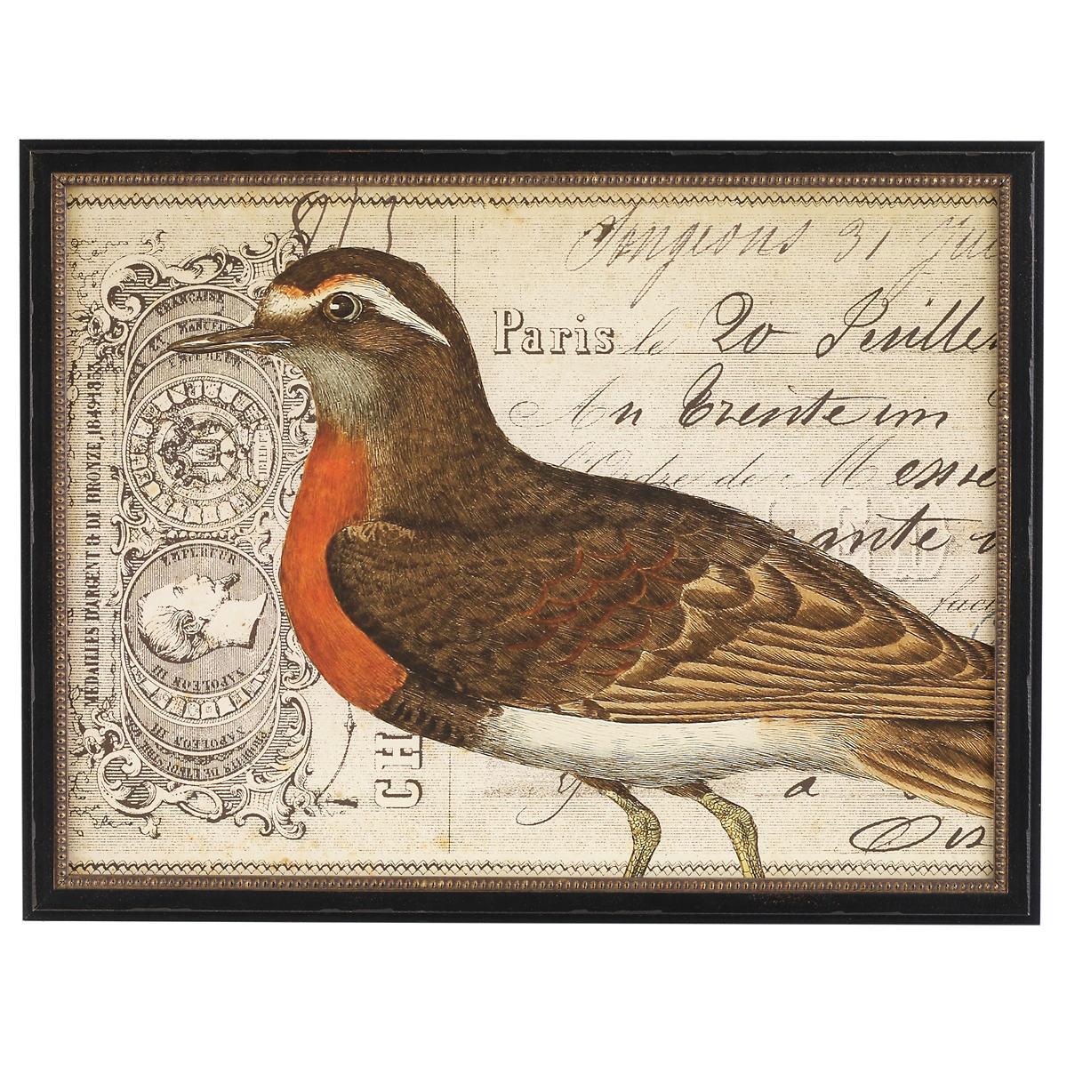 Vintage Bird 2 Wall Art