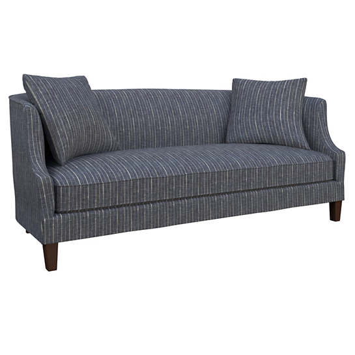 Vintage Stripe Indigo Cheshire Sofa
