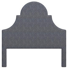 Vintage Stripe Indigo Montaigne Headboard