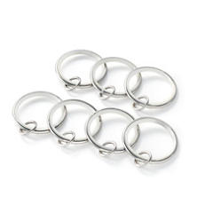 Curtain Loop Polished Nickel Ring