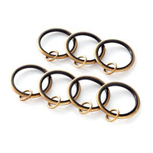 Curtain Loop Satin Brass Ring