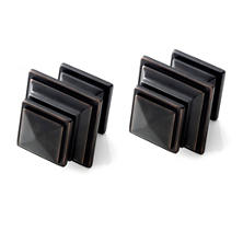 Square Oil Rubbed Bronze Finials/Set of 2
