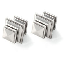 Square Satin Nickel Finials