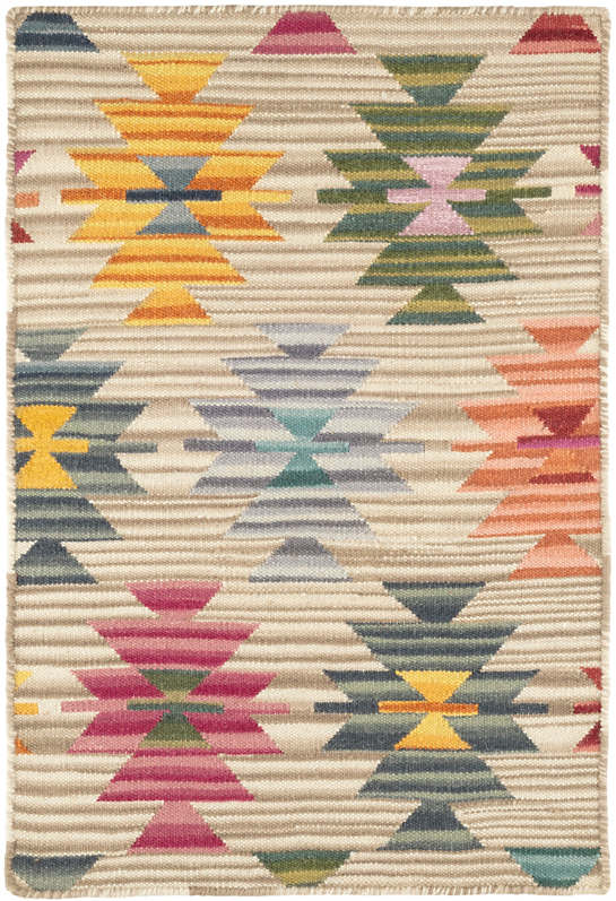 Wales Kilim  Woven Wool Rug