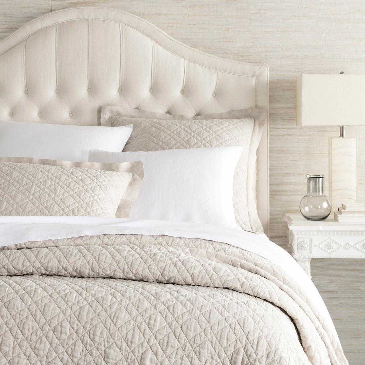 Washed Linen Natural Quilt