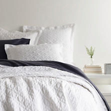 Washed Linen White Quilt