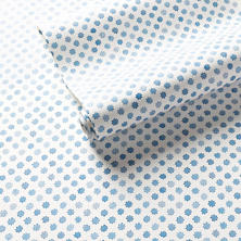 Watercolor Dots Blue Wallpaper