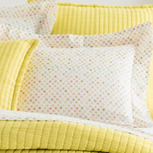 Watercolor Dots Sham