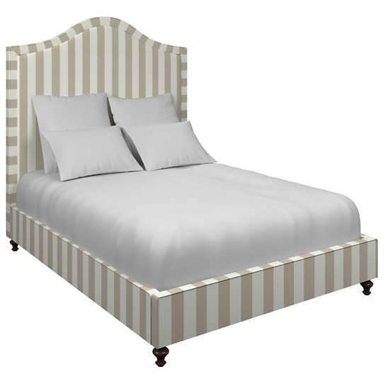 Alex Pearl Grey Westport Bed
