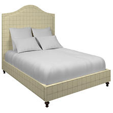 Chatham Tattersall Natural/Grey Westport Bed