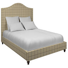 Chatham Tattersall Navy/Brown Westport Bed