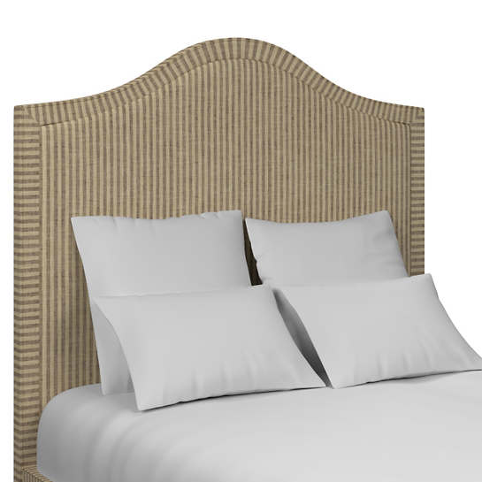 Adams Ticking Brown Westport Headboard