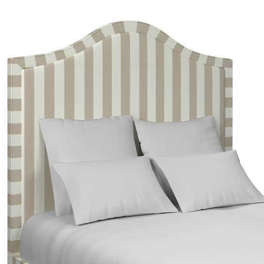 Alex Pearl Grey Westport Headboard