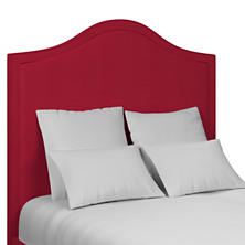 Estate Linen Red Westport Headboard