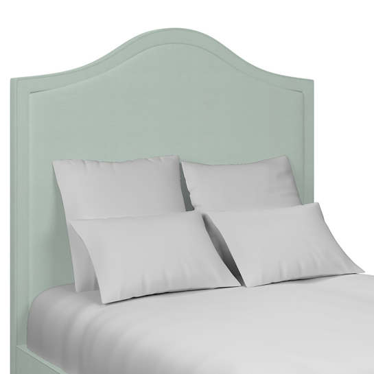 Estate Linen Powder Blue Westport Headboard