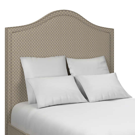 Sophie Embroidery Grey Westport Headboard