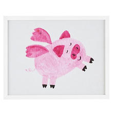 When Pigs Fly  Wall Art