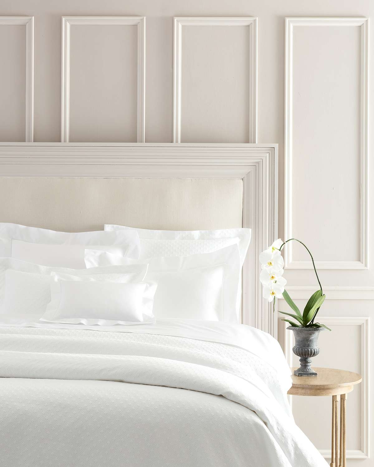 White Hotel Bed 1