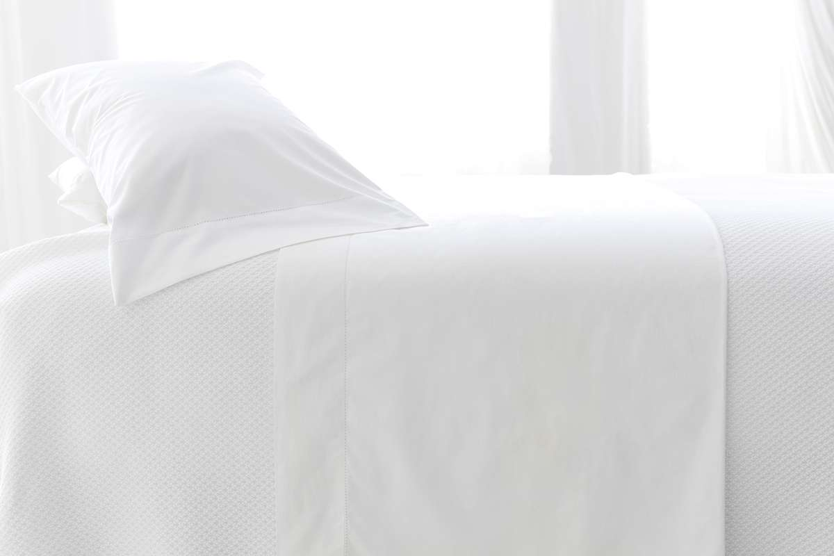 White Hotel Bed 2