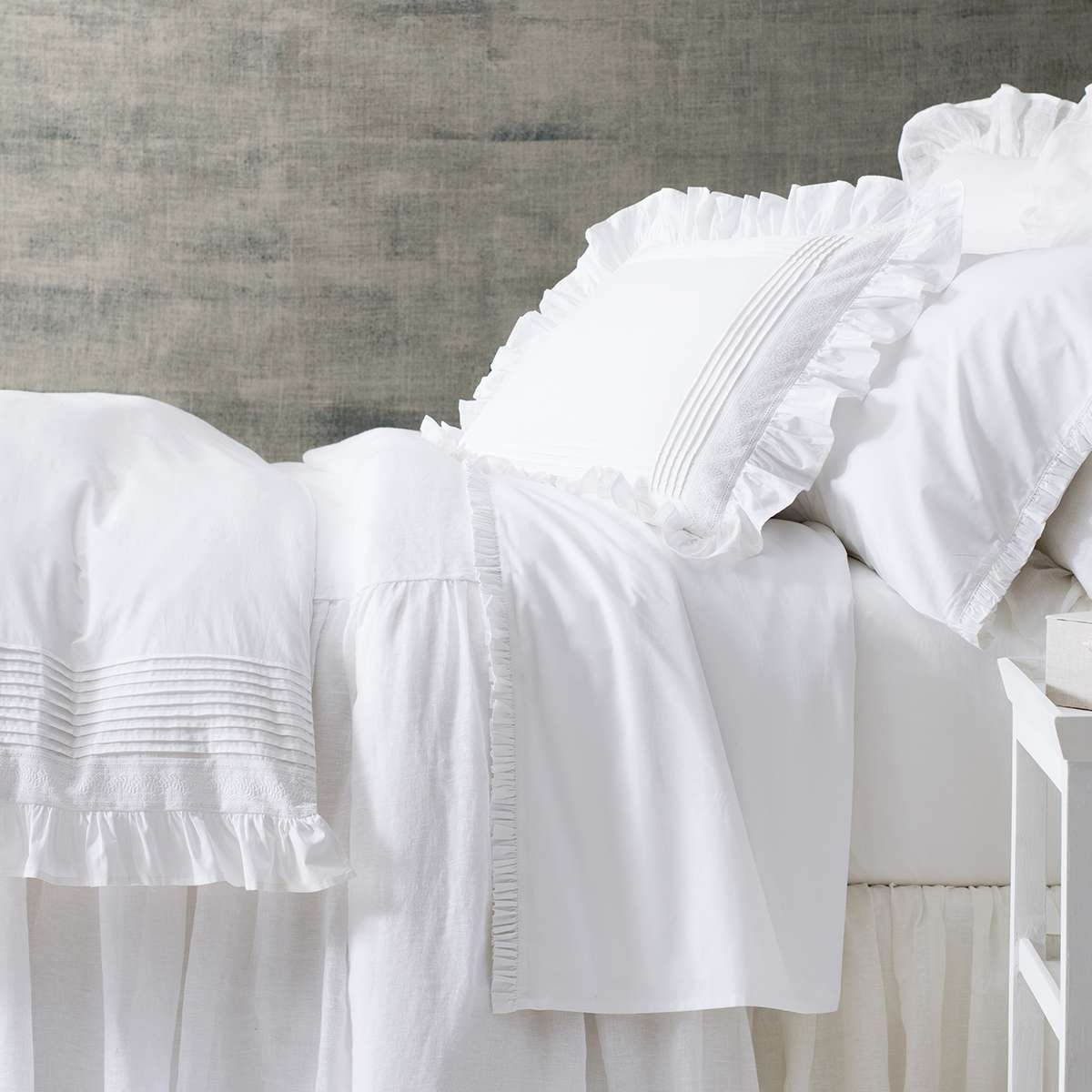 White Hotel Bed 3
