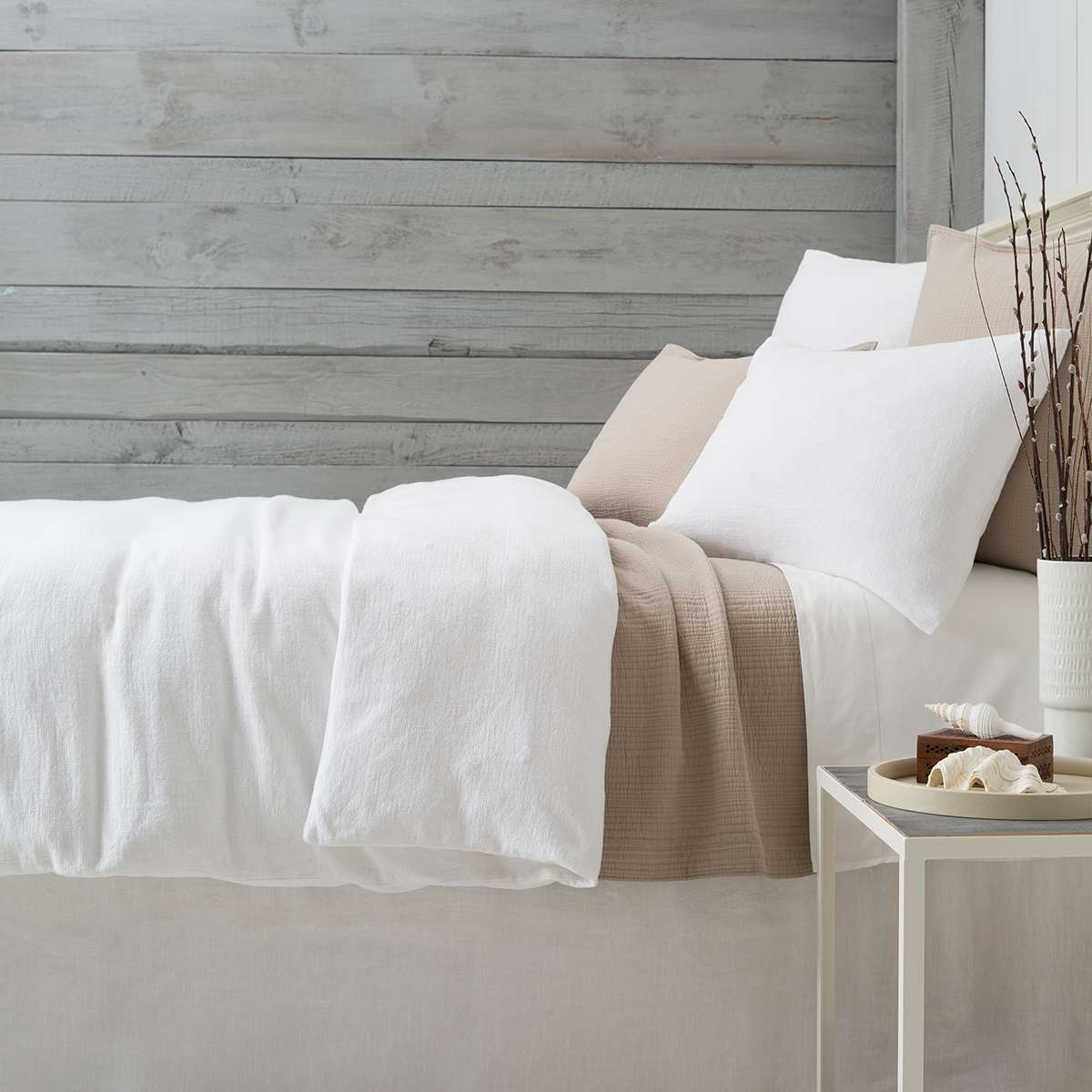 White Hotel Bed 5