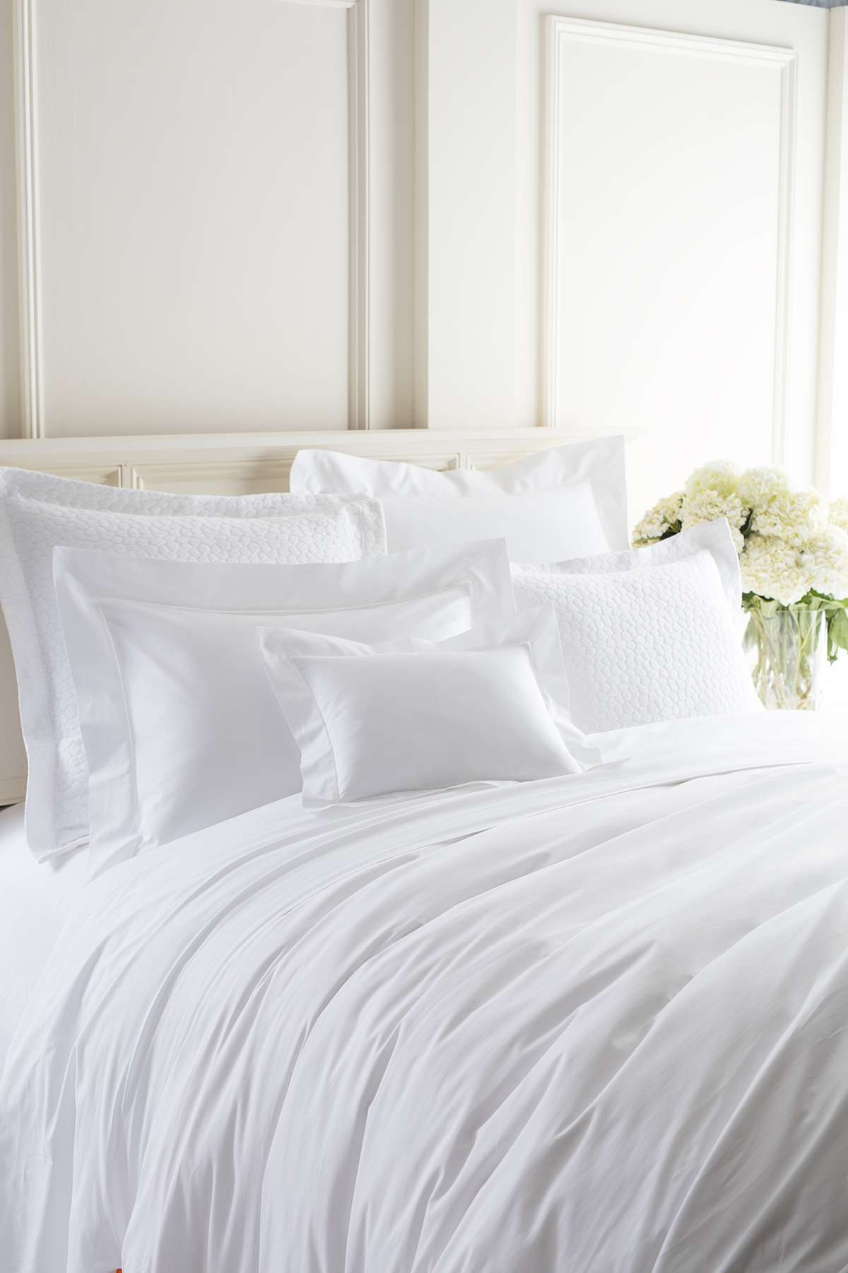 White Hotel Bed 7