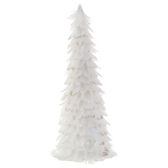White Feathered Tree