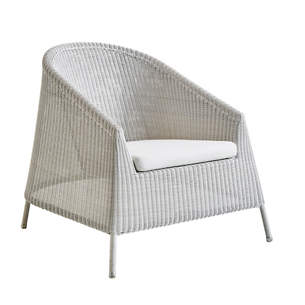 White/Grey Kingston Lounge Chair