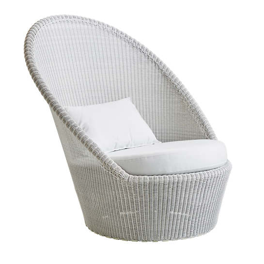 White/Grey Kingston Sun Chair