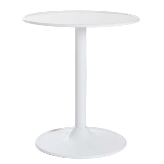 White Mod Pedestal Table