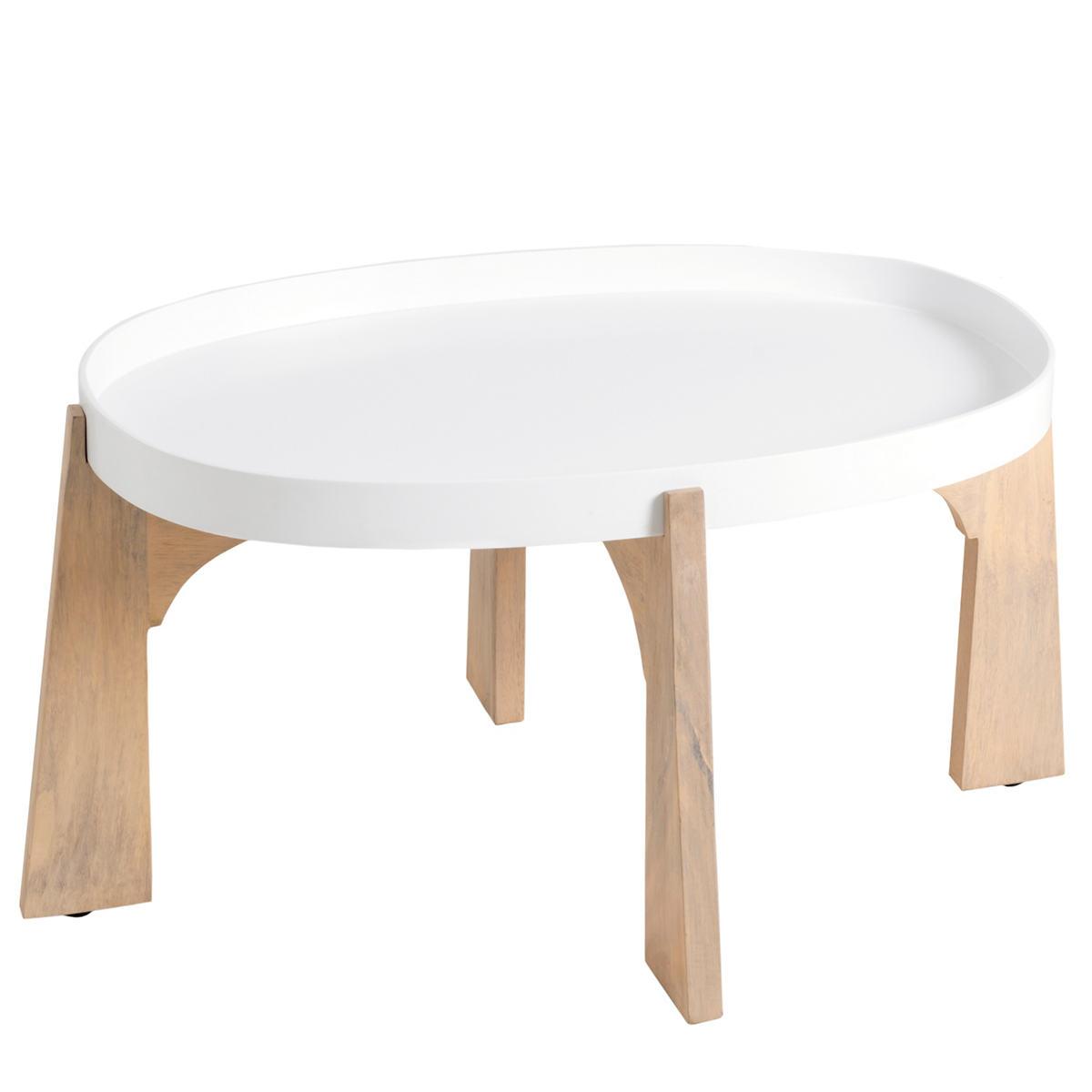 White Modular Tray Table