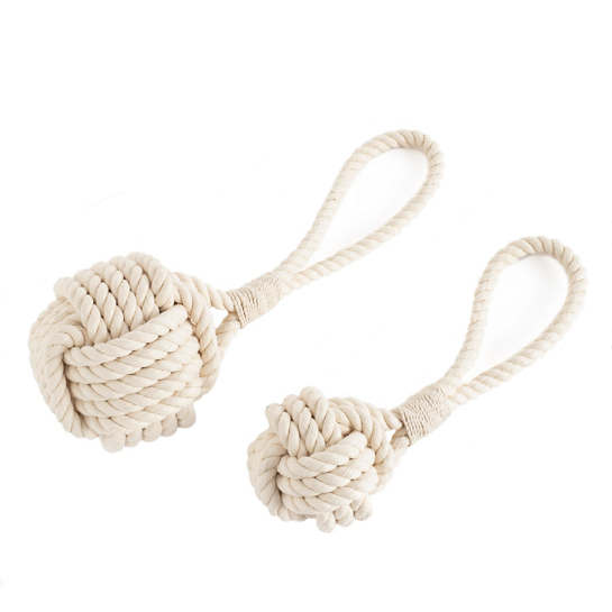 White Rope Dog Toy