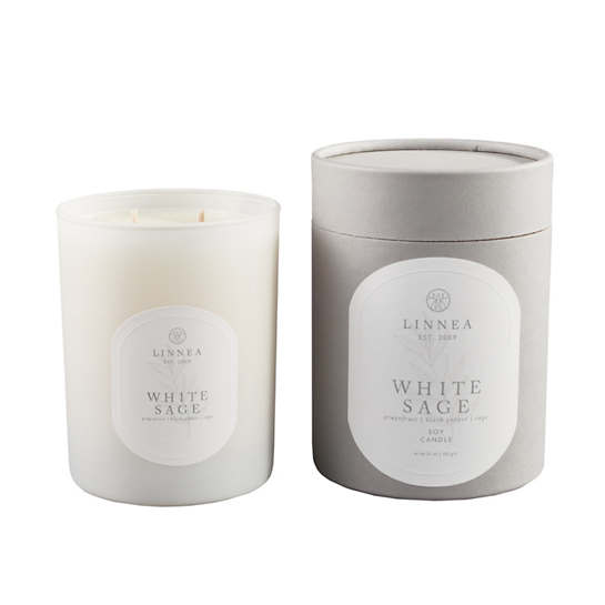 White Sage  Two-Wick Candle