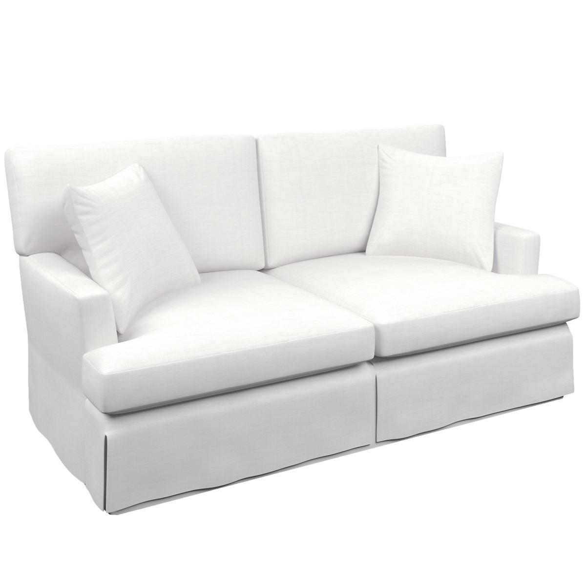 White Saybrook 2 Seater Sofa