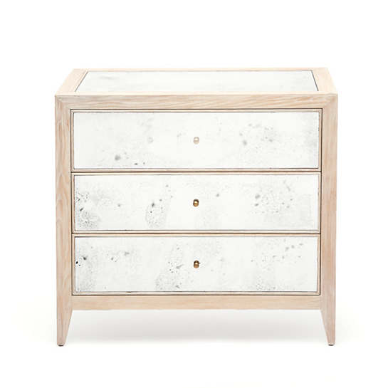 Whitewashed Mia Double Nightstand