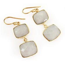 Whitten Moonstone Earrings