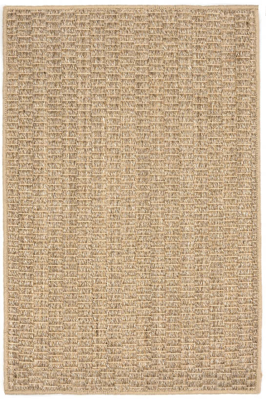 Wicker Natural Woven Sisal Custom Rug With Pad