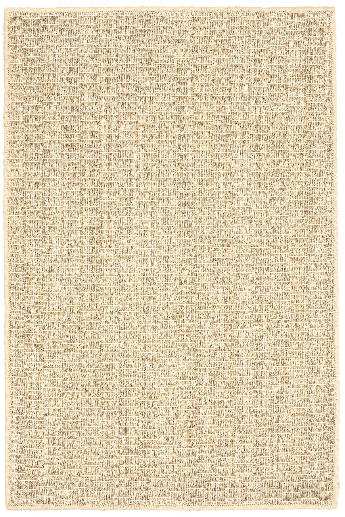 Wicker Sand Woven Sisal Custom Rug With Pad