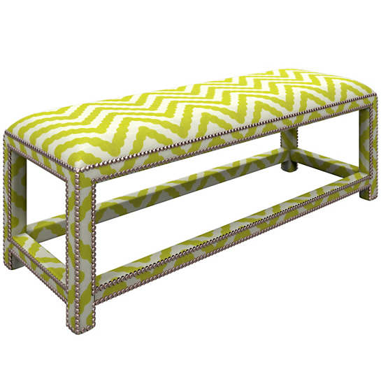 Wiggle Light Green Lexington Bench