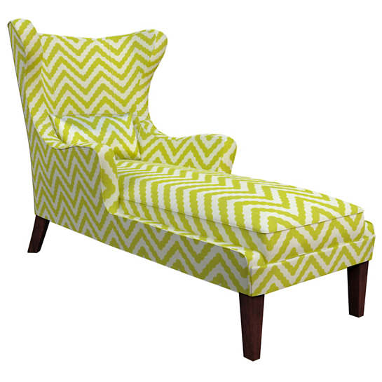Wiggle Light Green Mirage Tobacco Chaise
