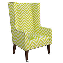 Wiggle Light Green Neo-Wing Chair