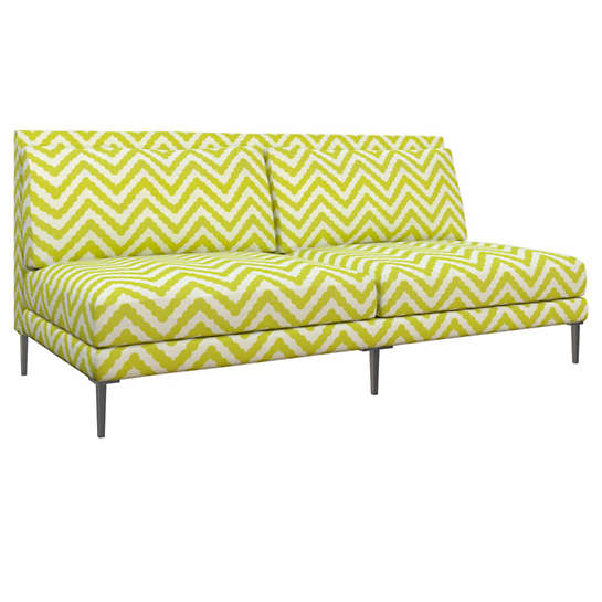 Wiggle Light Green Portola Sofa