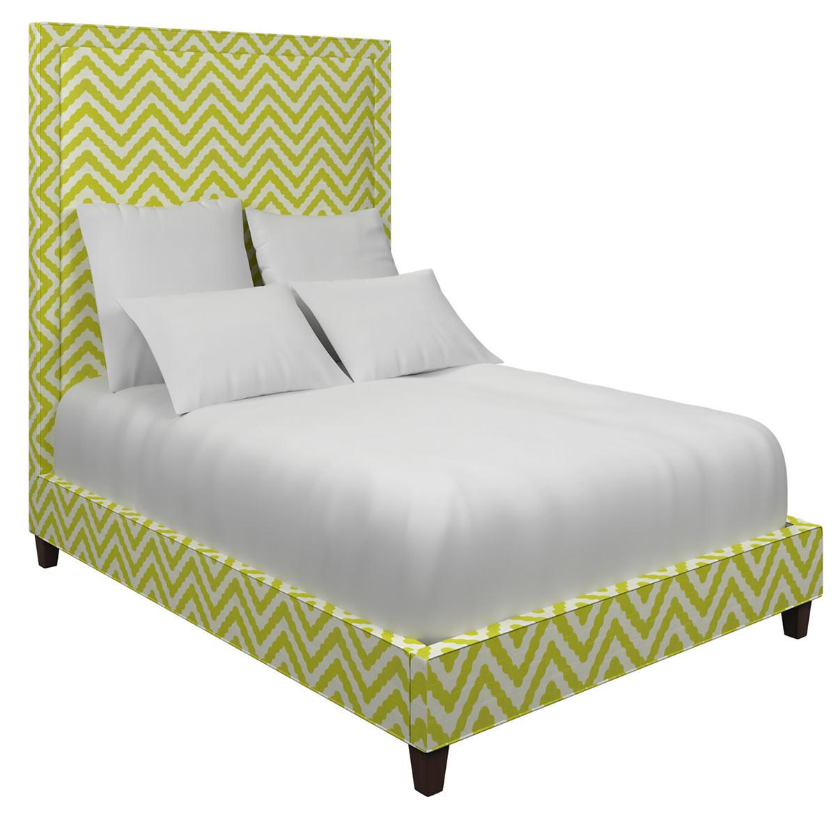 Wiggle Light Green Stonington Bed