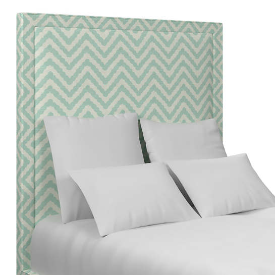 Wiggle Light Sky Stonington Headboard