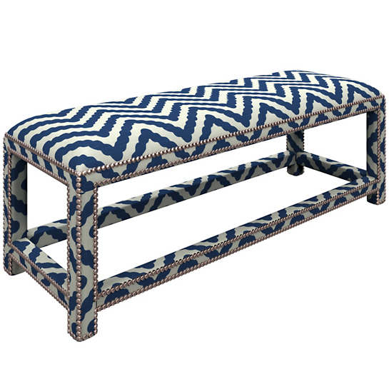 Wiggle Navy Lexington Bench