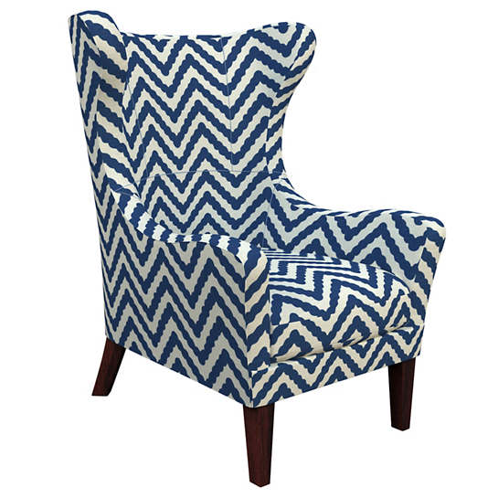 Wiggle Navy Mirage Tobacco Chair