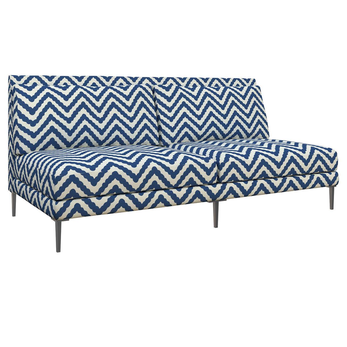 Wiggle Navy Portola Sofa