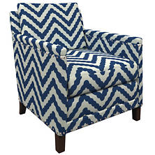 Wiggle Navy Ridgefield Chair