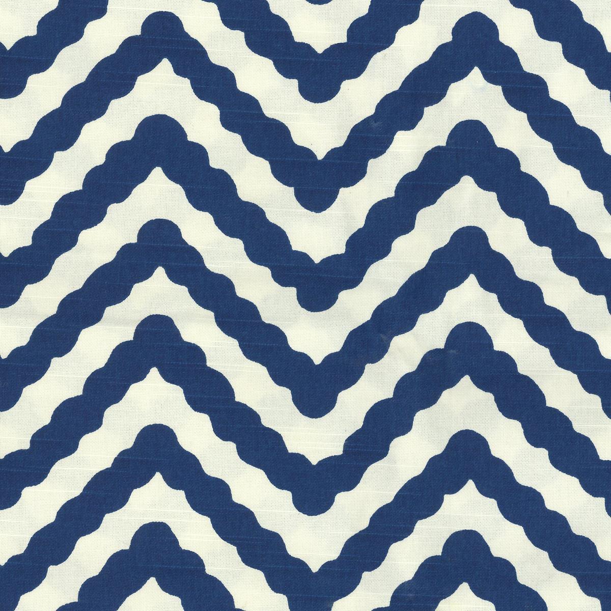 Wiggle Navy Fabric